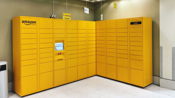 fresno state campus news new on campus amazon locker. Black Bedroom Furniture Sets. Home Design Ideas