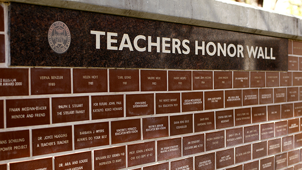 Fresno State Campus News Honor Wall Celebrates 20 Years