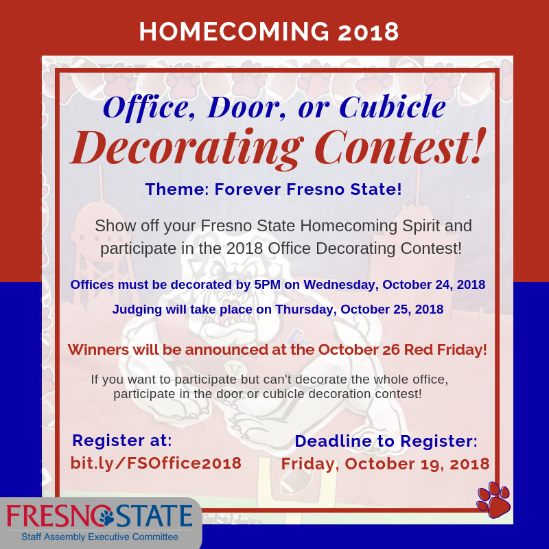 Fresno State Campus News 2018 Homecoming Decorating Contest
