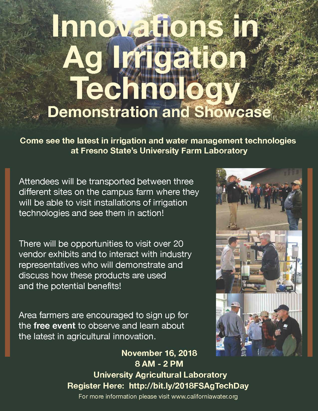 Fresno State Campus News | Ag Irrigation Technology
