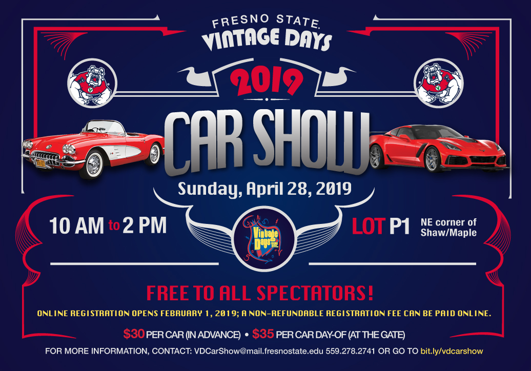 Fresno State Campus News | Showcase your vehicle at the