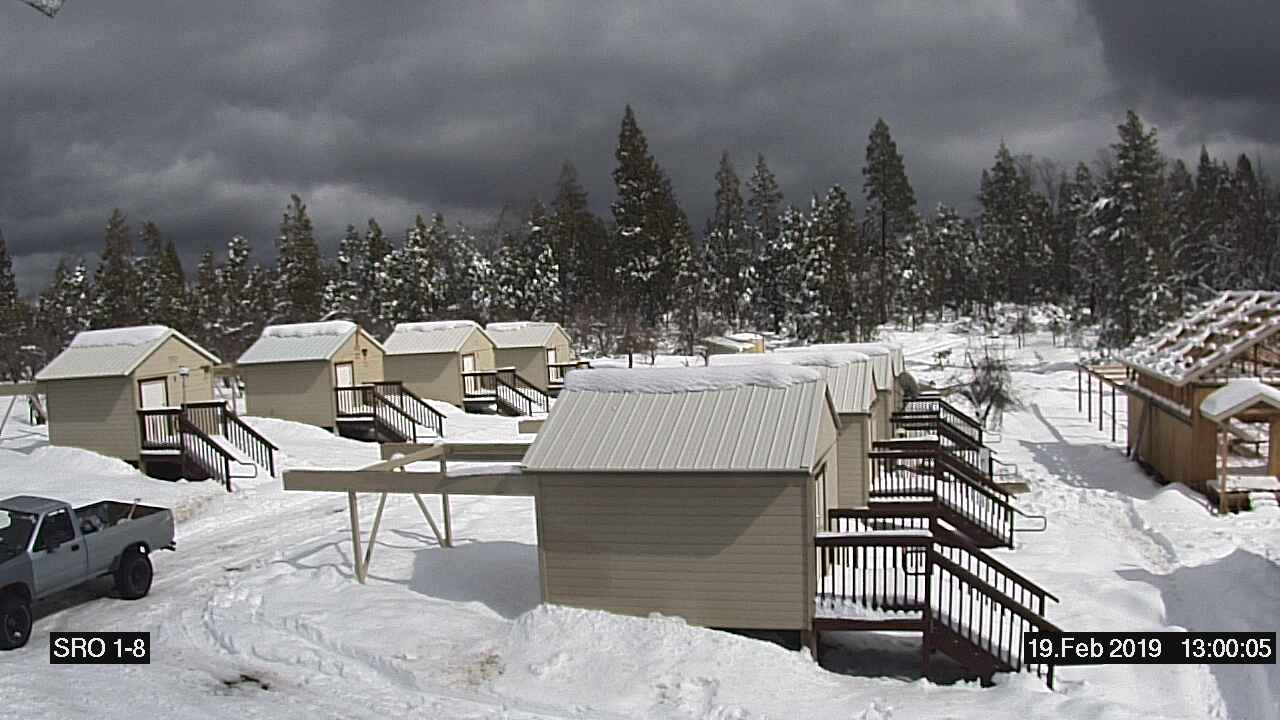 Fresno State Campus News Snow Packs Fresno State Observatory At Shaver Lake
