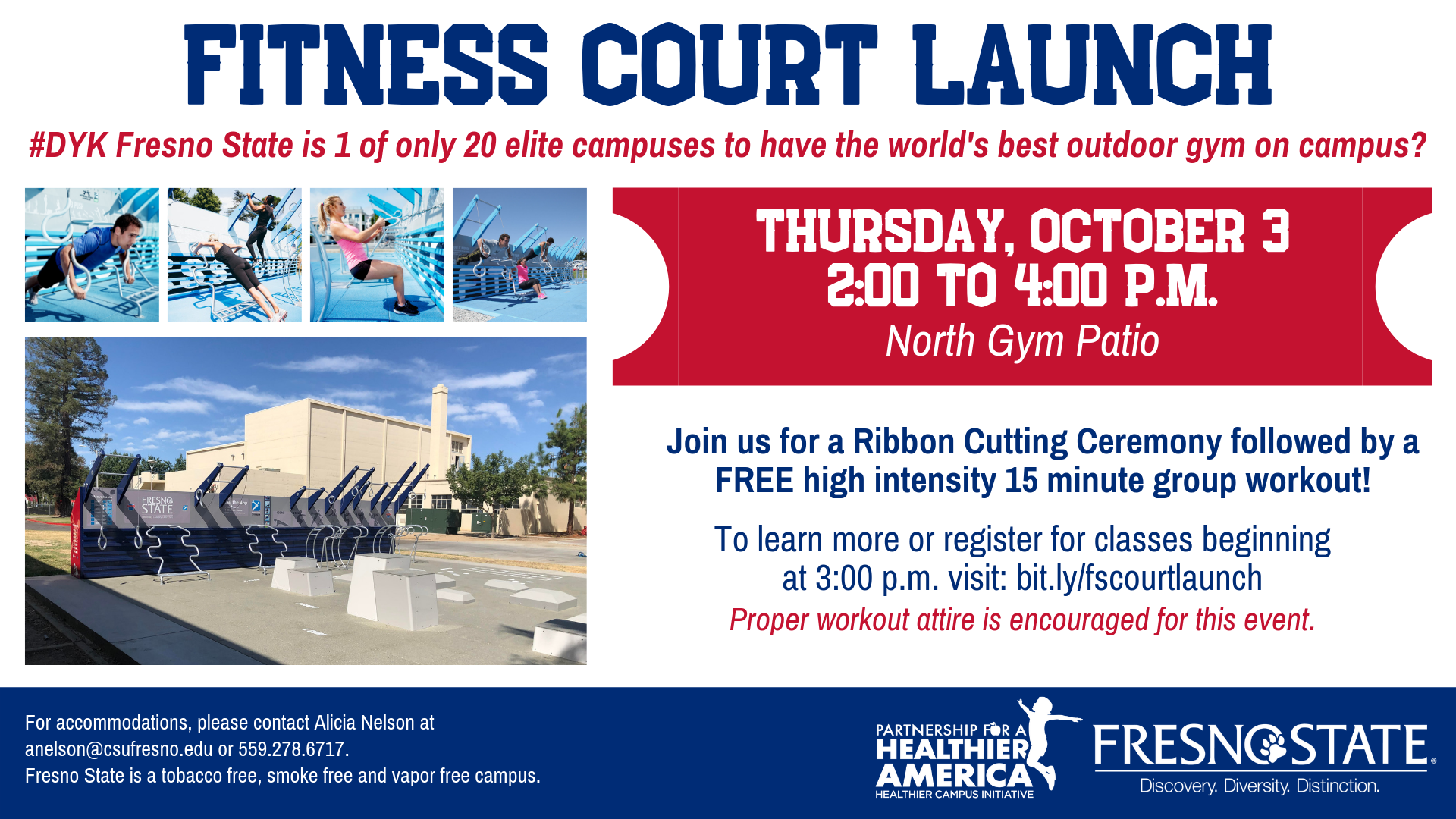 Fresno State Campus News   Ribbon cutting for new campus