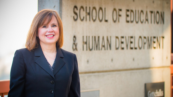 Interim dean Dr. Julie Olson-Buchanan