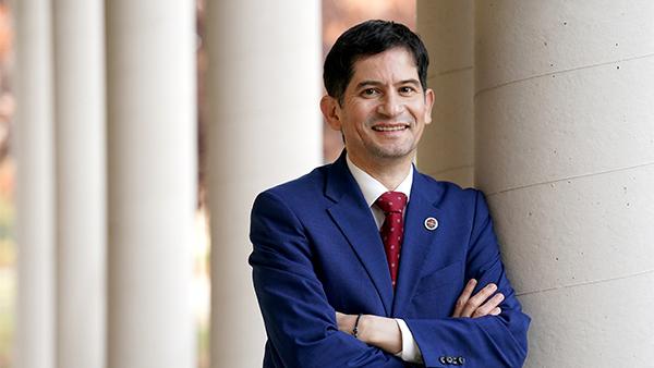 Fresno State Interim President Saúl Jiménez-Sandoval
