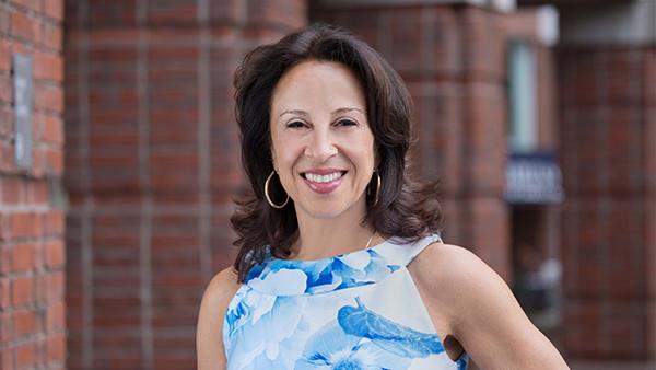 María Hinojosa, host of NPR's Latino USA and President of the Futuro Media Group