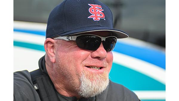 Baseball coach Mike Batesole