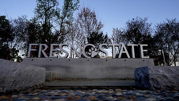 Fresno State sign