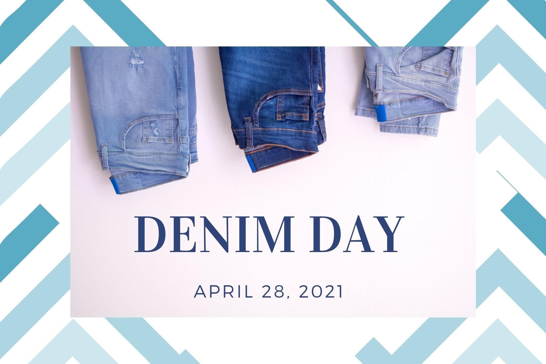 Denim Day, April 28, 2021