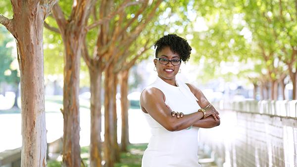Dr. Jenelle Pitt, Associate Dean of the Kremen School of Education and Human Development