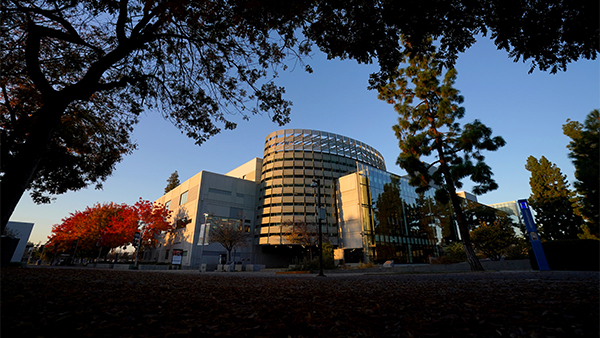 Henry Madden Library at Fresno State.