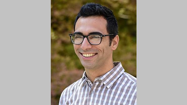 Dr. Luca Brillante, professor of assistant professor of viticulture, Bronco viticulture chair
