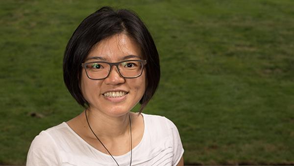 Dr. Ting-fen Lin, assistant professor, Department of Communicative Sciences and Deaf Studies.